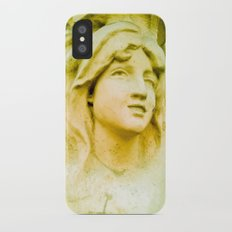 Hopeful and with great faith. iPhone X Slim Case