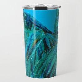 Palm Oasis Travel Mug