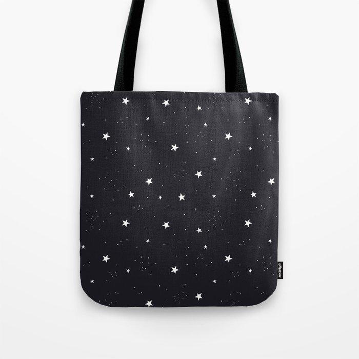 stars pattern Umhängetasche