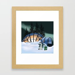Parker the Penguin Framed Art Print