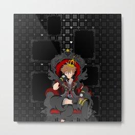 Kingdom Hearts 3 - Sora - Ultimania Metal Print