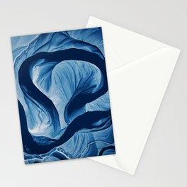 Mississippi Meander Blues 1 Stationery Cards
