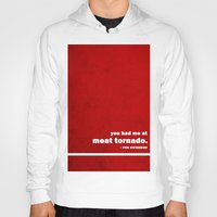 parks and rec Hoodies featuring Parks + Rec - Ron Swanson by lissalaine