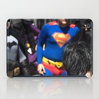 neil gaiman iPad Cases featuring Neil Gaiman's SANDMAN creates the world of color and costumes ... by Hoboxia