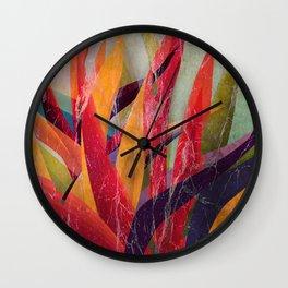 botanical gimmick Wall Clock
