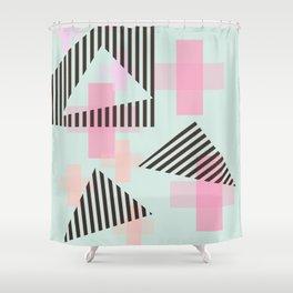 Gem & Mineral Show Shower Curtain