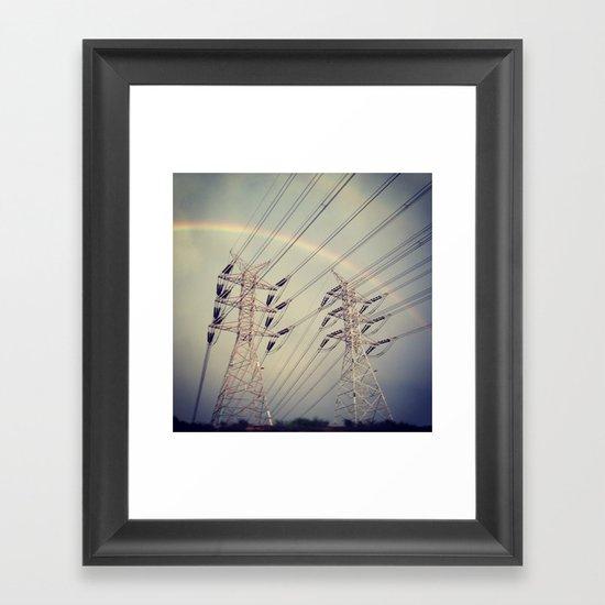 Electric Feel  Framed Art Print
