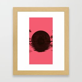 Hotline Miami inspired Framed Art Print