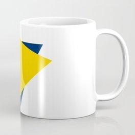 Football Abstract Coffee Mug
