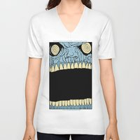 mouth V-neck T-shirts featuring Mouth by Hobo&Arrow