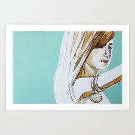 Her Spirit Art Print