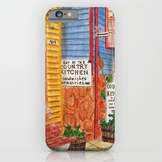 Country Kitchen iPhone & iPod Case