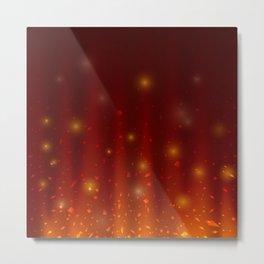 Autumns Fire Metal Print