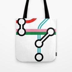 Tube Junction 3 Tote Bag