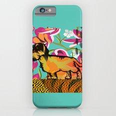 Dachshund  pop art Slim Case iPhone 6s
