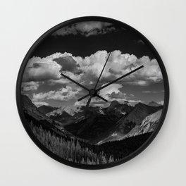 Galatea Lake Valley Wall Clock