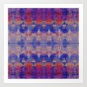 Watercolour Tribal Blue by amysia
