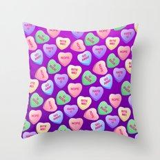 Bitter Sweets Throw Pillow