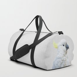 White Cockatoo - Colorful Duffle Bag