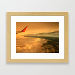 fly me away Framed Art Print