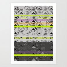 Tri Lands Art Print