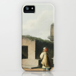 Monument on the Coast of Syria from Views in the Ottoman Dominions, in Europe, in Asia, and some of iPhone Case