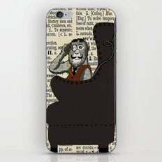 Detective Monkey iPhone & iPod Skin