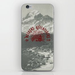 Weekend Adventurers Club iPhone Skin