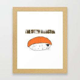 The Sushi Monster Framed Art Print