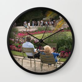 Taking a rest  Wall Clock