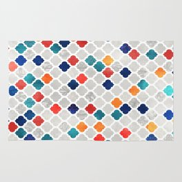Sea & Spice Moroccan Pattern Rug