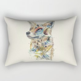 Heroes of Lylat Starfox Inspired Classy Geek Painting Rectangular Pillow