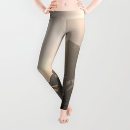 Adventure in the Mountains - Nature Photography Leggings