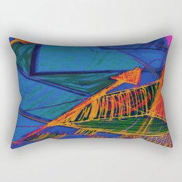 Arrow Doodle Rectangular Pillow