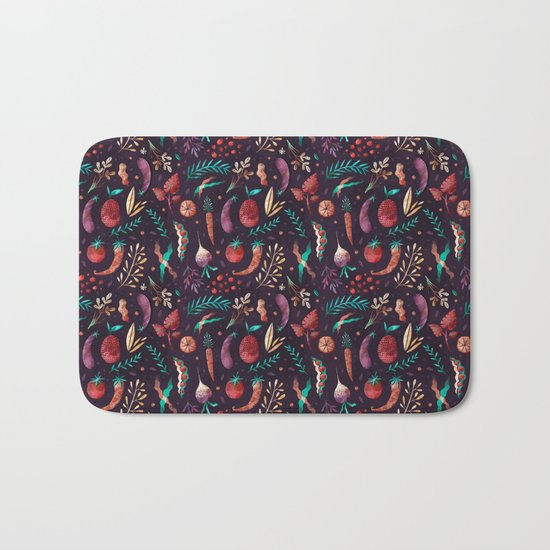 Veggies Bath Mat