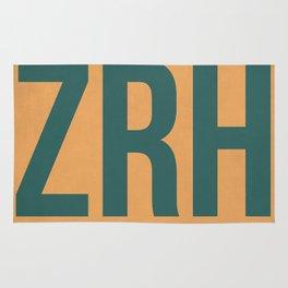 ZRH Zurich Luggage Tag 1 Rug