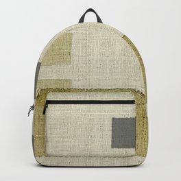 """""""Burlap Texture Natural Shades"""" Backpack"""