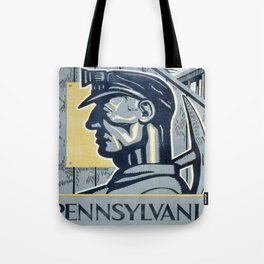 Vintage poster - Pennsylvania Tote Bag