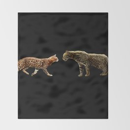 Meet the wild brother Throw Blanket