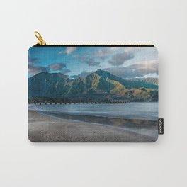 Na' Pali Hanalei, Kauai Carry-All Pouch