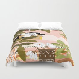 How Many Plants Is Enough Plants? Duvet Cover