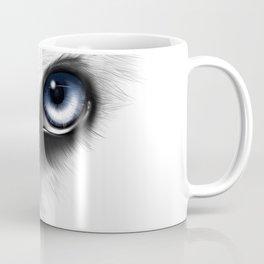 Husky Eye digital drawing Coffee Mug
