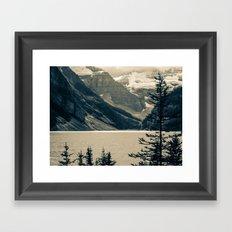 The Mountain Scene Framed Art Print