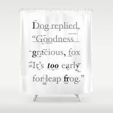 Goodness Shower Curtain