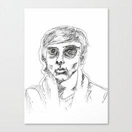 Half Empty Canvas Print