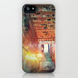kiosk nyc iPhone Case
