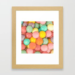 Goody Gumballs Framed Art Print