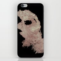 in the flesh iPhone & iPod Skins featuring Flesh by Vezper Art