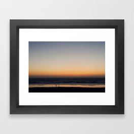 an edge (Oregon)  Framed Art Print