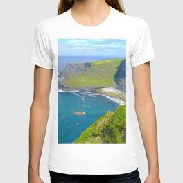 Cliffs Of Moher Ireland Landscape T-shirt